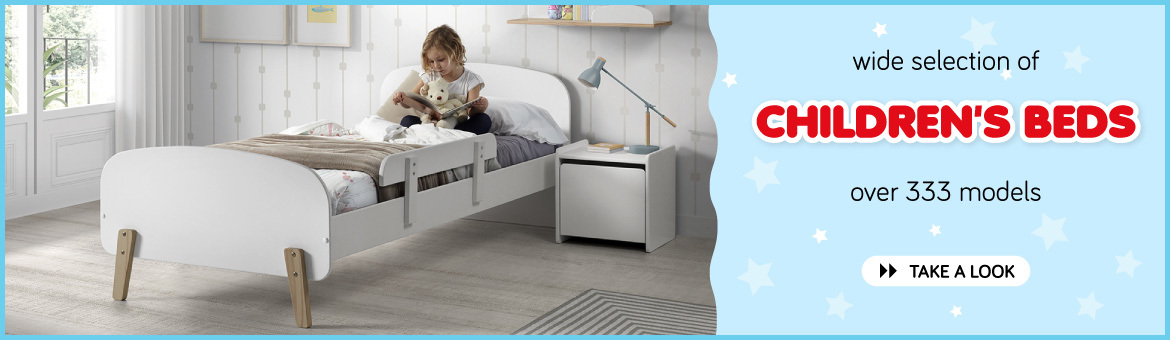 Wide selection of children's beds - over 333 models