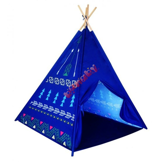 Teepee tent for children - Blue