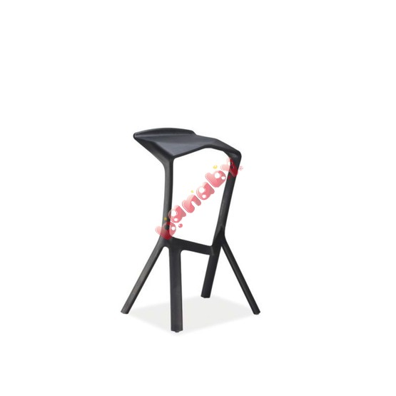 Bar stool VOLT black