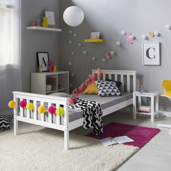 Children's bed Anet - white