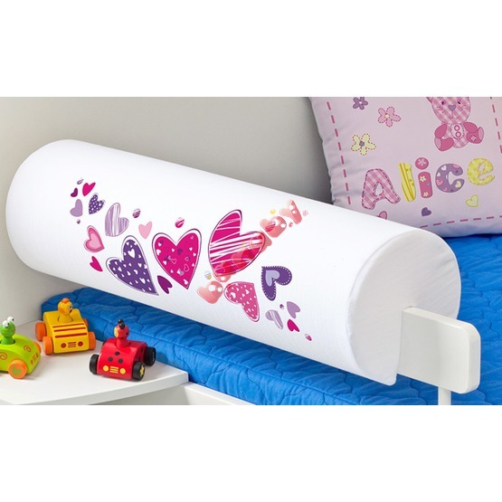 Children's Safety Rail Protector - Hearts