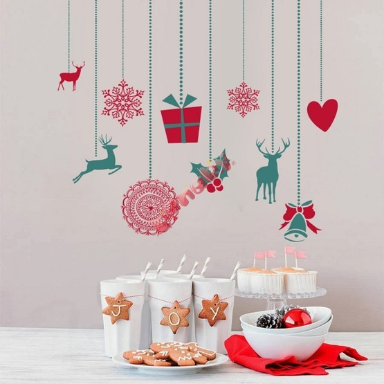 Christmas decoration to wall - Christmas trappings II