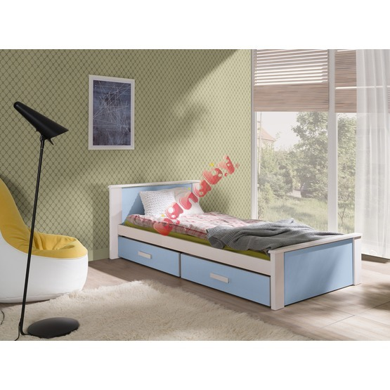 Donald Children's Bed - Blue