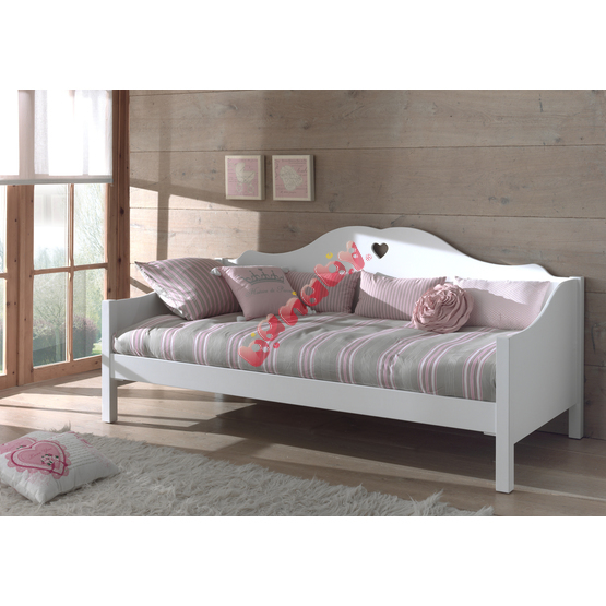 Children bed with back Amori
