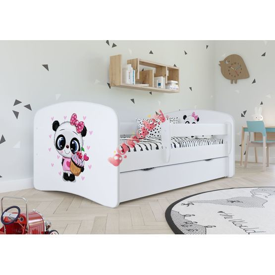 Baby bed se behind the gate - Panda - white