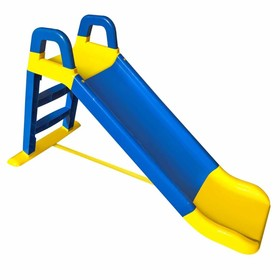 Baby slide Happy 140 cm - blue-yellow, Mabel