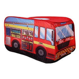 Children's Play Tent - Fire Engine, EcoToys