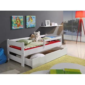 Bed with bed rail - White, Ourbaby