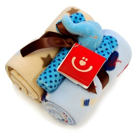 Gift set blankets + toy KCSN-22, Bobas