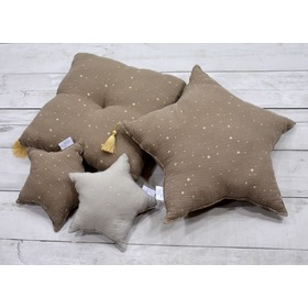 LILU muslin pillow star maxi