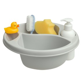 Baby Wash Bowl with Bathing Essentials - Various Colours, Maltex