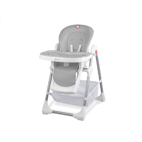 Children dining small chair LIONELO Linn Plus - grey, Lionelo