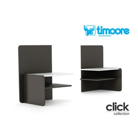 Night chair with shelf Click, Timoore