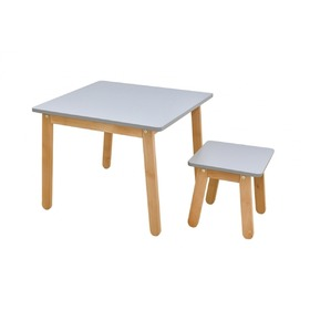 Chair for children Woody grey, Bellamy