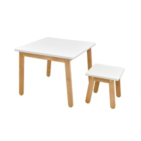 Children's chair Woody White, Bellamy