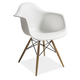 Dining chair MONDI white, SIGNAL MEBLE