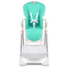 Children's dining small chair LIONELO Linn Plus - mint, Lionelo