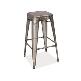 Bar chair LONG performed steel, SIGNAL MEBLE
