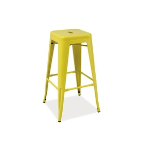 Bar stool LONG yellow, SIGNAL MEBLE