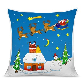 Christmas children pillow 04, CamelLeon
