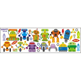 ROBOTS Wall Decoration, Mint Kitten