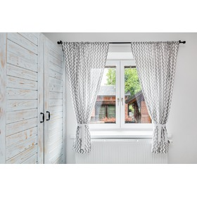 Curtains for children Zig-zag white-gray 5, Dom-Dekor