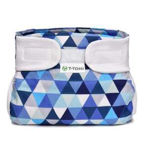 ORTHOPEDIC ABDUCTION pants - BLUE TRIANGLES, T-Tomi