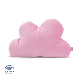 Cushion cloud Velvet pink, Makaszka