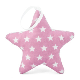 Suspendable decoration Star pink with stars, Mint Kitten