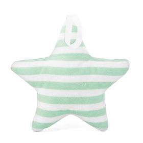 Suspendable decoration Star with mint strips, Mint Kitten