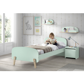 Nightstand Kiddy mint, VIPACK FURNITURE