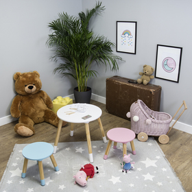 Ourbaby round table with chairs for children, SENDA