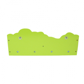 Children peg with shelf Jungle, Homestyle4u