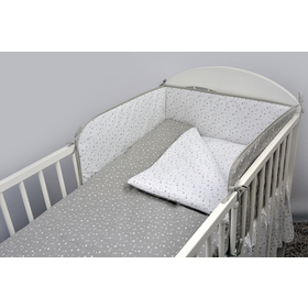 Set bedding to cribs Constellation 120x90 cm, Ankras
