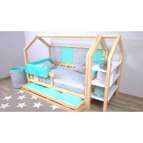 Foam bed rail Ourbaby - mint, Dreamland