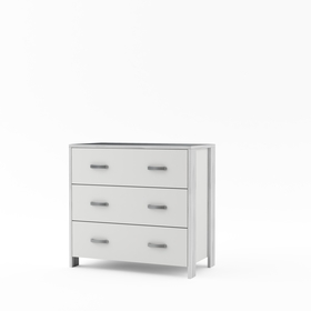 Chest of Drawers Manhattan - white, Timoore