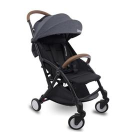 Sports baby motorcycleriage LIONELO Julia - black-gray, Lionelo