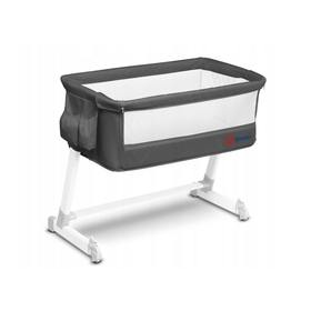 Travel cot to bed parents Theo - dark grey, Lionelo