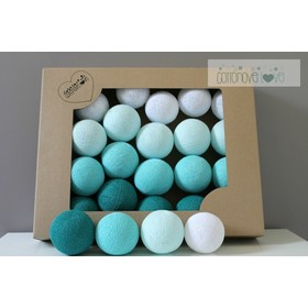 Cotton illuminating ICE marbles Cotton Balls - fresh love, cotton love