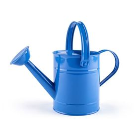 Watering can blue, Woody