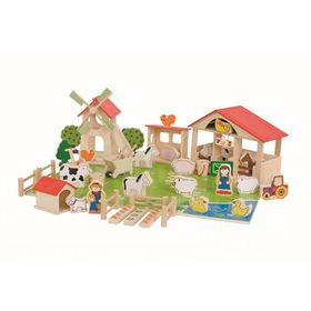 Bigjigs Large wooden farm, Bigjigs