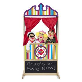 Large puppet theater - stage, Melissa & Doug