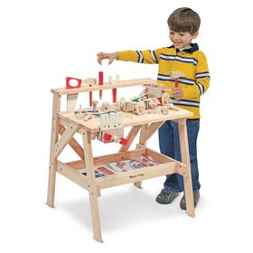 Wooden workshop for DIY and 2in1 kits, Melissa & Doug