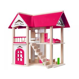 Anna-Marie dollhouse with furniture, Woody