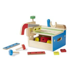 Carpentry workshop with tools, Melissa & Doug