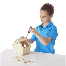 Creative set - wooden birdhouse, Melissa & Doug