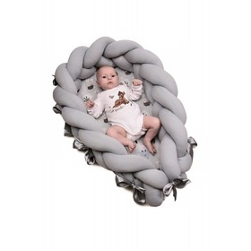 Baby nest 2in1- Gray fawn, T-Tomi