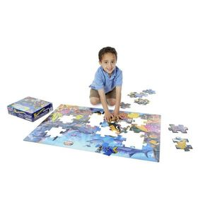 Floor puzzle underwater world 48 pieces, Melissa & Doug