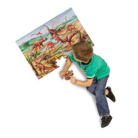 Floor puzzle dinosaurs 48 pieces, Melissa & Doug
