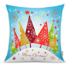 Christmas children pillow - christmas trees, CamelLeon